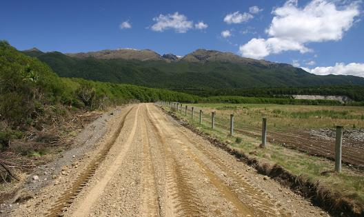 Waiau Trust created this access road at Jerico